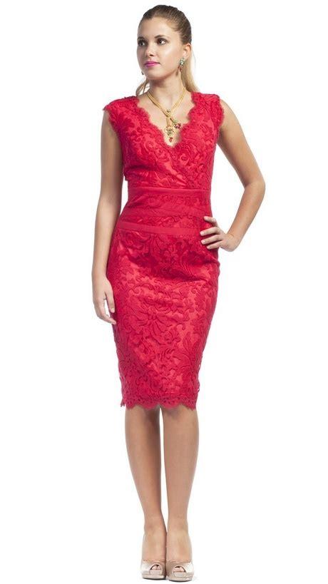 vestidos rojos corto vestidos rojos de encaje cortos