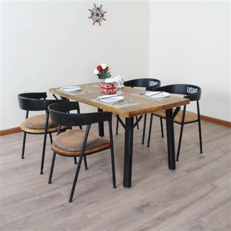 Retro Dining Tables And Chairs Vintage American Country To Do The Wood Tables And Chairs Wrought Iron Bar Caf Dinette