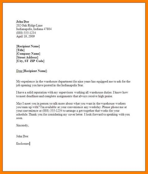 28 cover letter exles for warehouse basic warehouse
