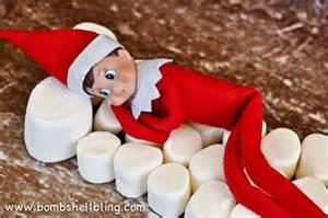 on the shelf ideas using marshmallows
