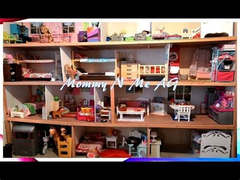 my ag doll house tour huge american girl doll house tour 2014 mommyn meag youtube