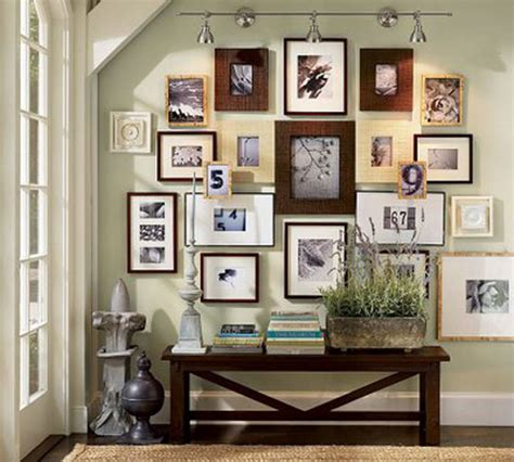 dress up your walls with framed photo collages the box
