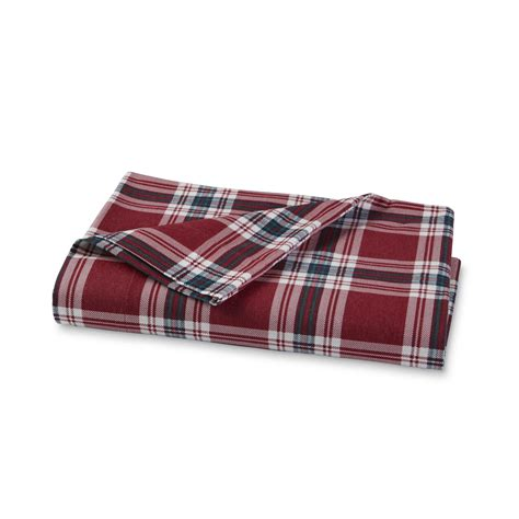 plaid bed sheets cannon flannel sheet set plaid home bed bath