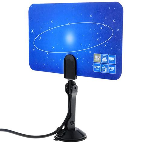 digital indoor tv antenna hdtv dtv box ready linear hd vhf uhf high gain hyfg ebay