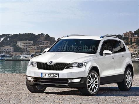 skoda yeti new model which rendering of the 2016 skoda yeti do you like most