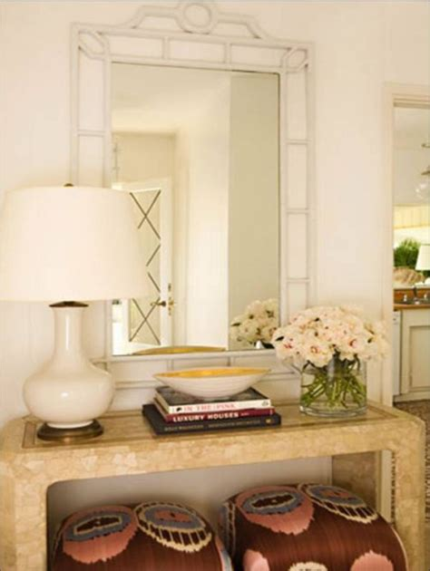 Decorating A Console Table Remodelaholic How To Decorate A Buffet