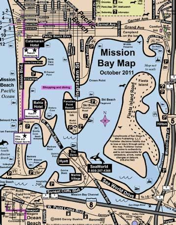 san francisco map mission bay mission bay san diego