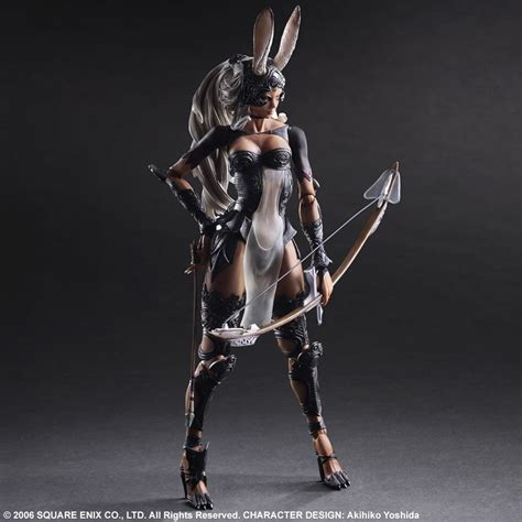 fran final fantasy 12 final fantasy xii play arts kai fran action figure