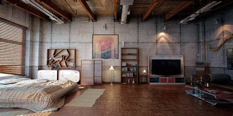 Industrial Loft By Denisvema On Deviantart | industrial loft 2 by denisvema on deviantart