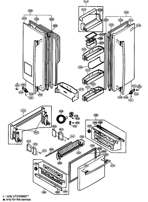 Lg Refrigerator Parts Diagram lg dishwasher repair manual imageresizertool