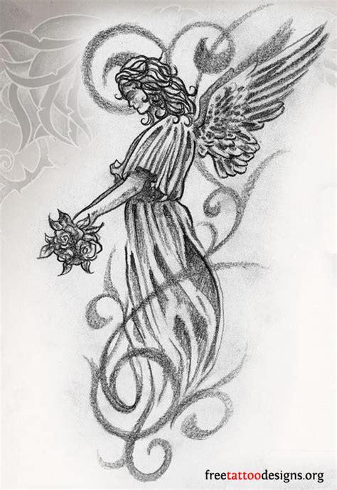 tattoo angel designs free angel tattoos angel wings guardian angel and st michael