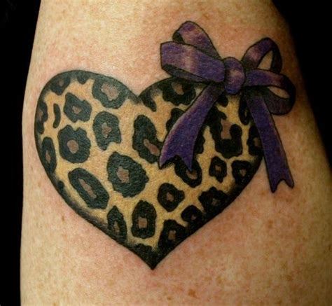 leopard print wrist tattoo leopard print colorful hair