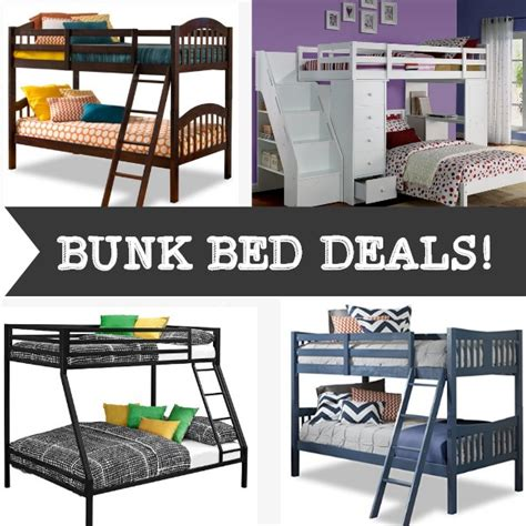Bunk Bed Deals 5 Bunk Bed Deals Big Rollbacks Cheap