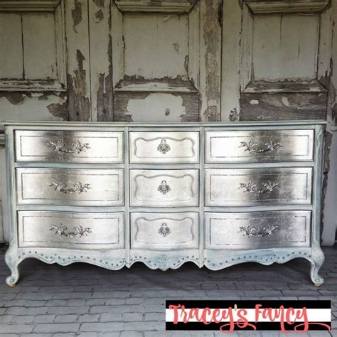 How To Paint A Dresser Metallic Silver by Best 25 Metallic Dresser Ideas On Metallic