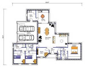 maison de plain pied en quot v quot 3 chambres crea05