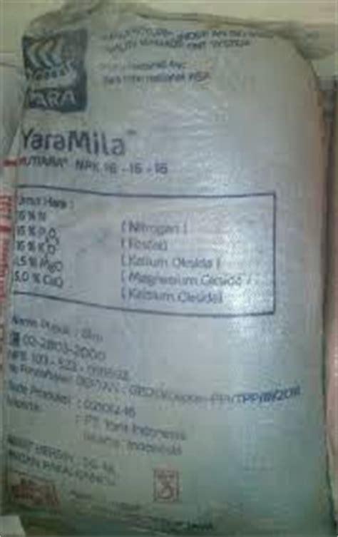 Pupuk Kalsium Yara jual pupuk npk mutiara 16 16 16 yaramila di medan kios