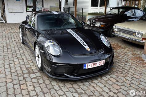 black porsche 911 gt3 black 2018 porsche 911 gt3 touring package shows sleek