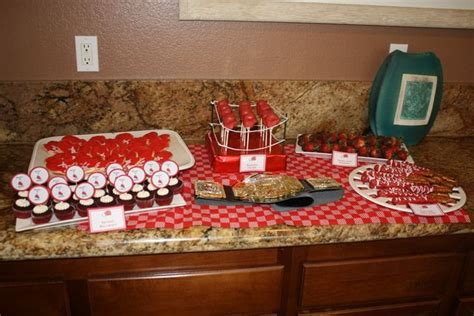 boxing theme decorations boxing baby shower ideas dessert bars sweet and