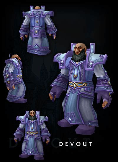 scrolls  lore image gallery renders armor setsdungeon  devout male dwarven priest