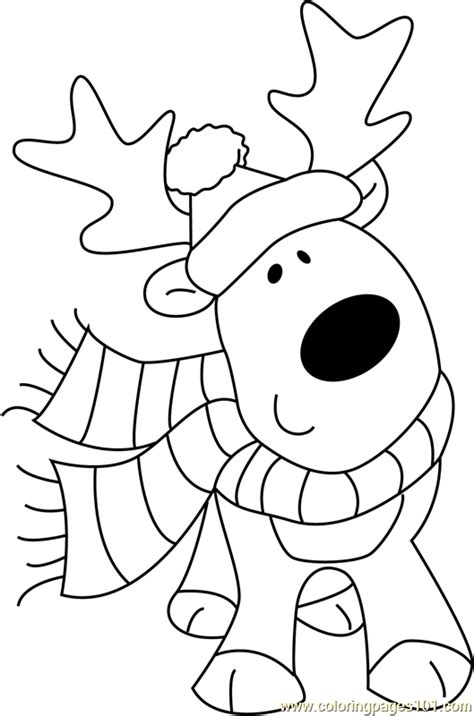 cute christmas animals coloring pages cute animal christmas coloring pages go back print this