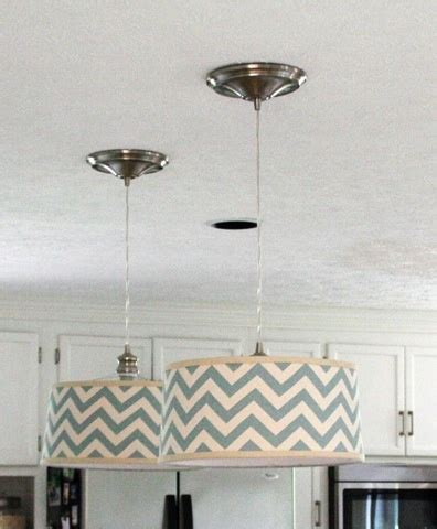diy drum light fixture diy drum shade pendant light do it myself