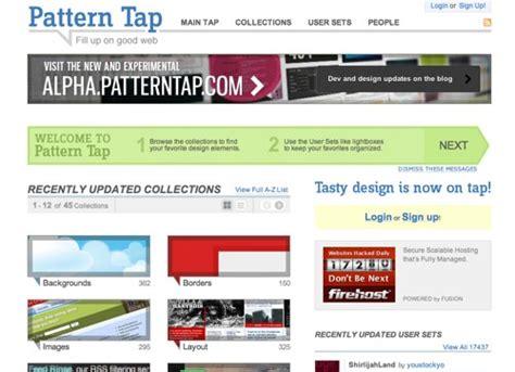 pattern tap alternative webサイトを要素やパーツごとにみることができるまとめサイトなど linker journal linker