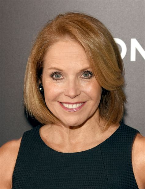 katie couric blonde hair color beauty tips hairstyles reporting on beauty inspiration modern salon