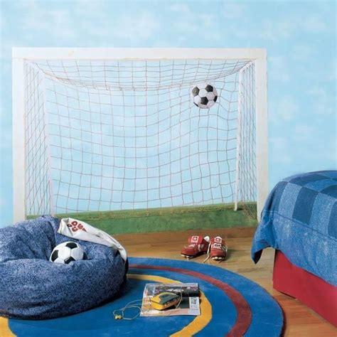 soccer murals for bedrooms pok 243 j fana piłki nożnej mural soccer fan room murale