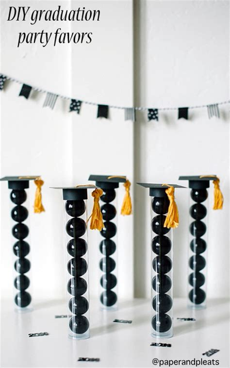 Graduation Party Giveaways - graduation gift with dollar diplomas