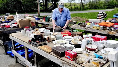 Garage Sale Finder Maine Cornville S 10 Mile Yard Sale Expects To Draw From Far And