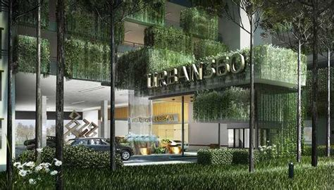 Vertical Garden Apartment Green Building With Vertical Gardens And Contemporary