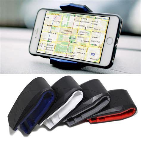 Holder For Mobil Dashboard Mobil universal car dashboard mobile phone alligator clip car holder mobile scaffold cradle mount
