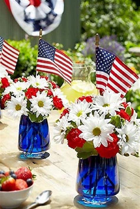 patriotic floral arrangement  memorial day fourth