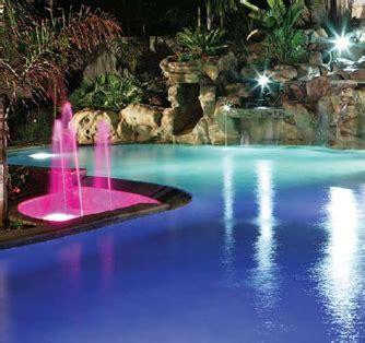 in ground pool lighting options inground pool lighting