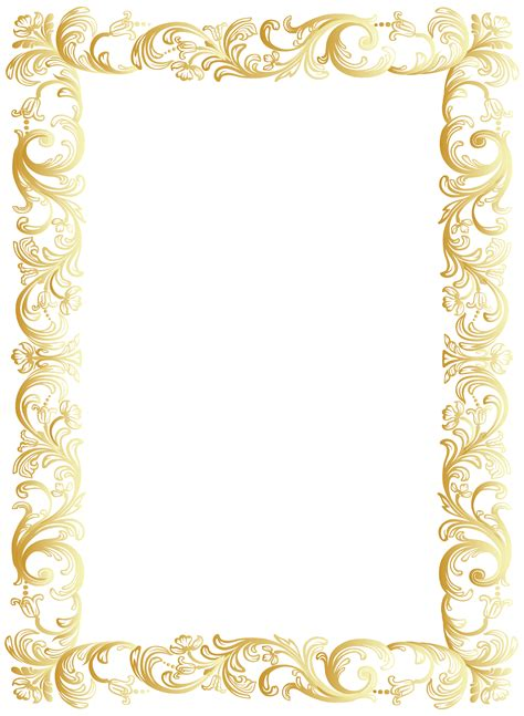 transparent background invitations announcements zazzle vintage border frame clip art png image gallery