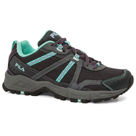 fila trail running shoes fila women s ascent 12 trail running shoes bob s stores