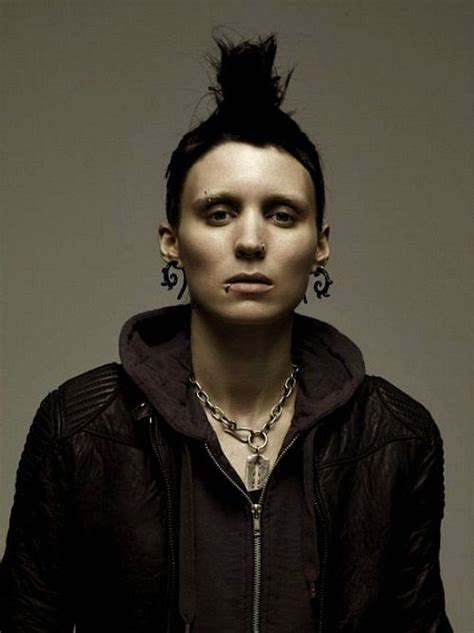 cast of the girl with the dragon tattoo lisbeth salander with the the