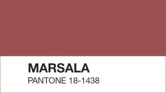 color of 2015 pantone s color of the year is marsala and it has some