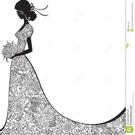 Bridal shower clipart silhouette Free Clipart Bride Silhouette