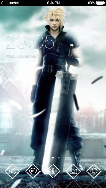 Themes Android Final Fantasy | download final fantasy vii theme for your android phone