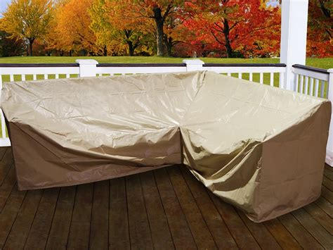Outdoor Corner Sofa Waterproof Cover Infosofa Co Outdoor Sectional Furniture Covers