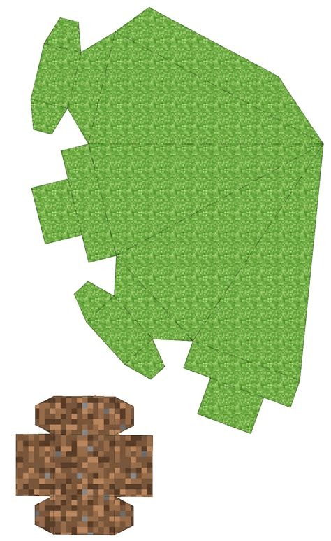 Tree Papercraft - minecraft 3d paper tree and printable the
