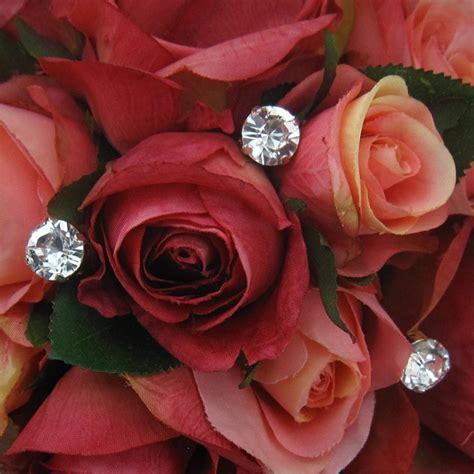 Wedding Bouquet Jewelry Stems by Large Swarovski Rhinestone Bouquet Jewelry Stems