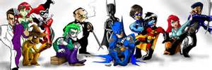 bat family by gandalf fett on deviantart