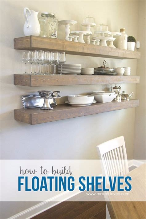 shelves for dining room 36 diy dining room decor ideas diy