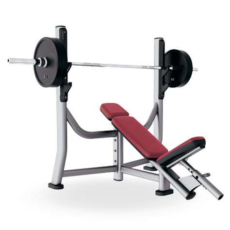 inclune bench olympic incline bench soib life fitness