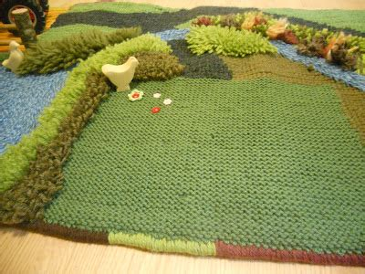 grown green rugs the five of us finished wool farm play mat