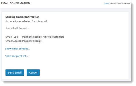 confirmation of receipt email template how to send a payment receipt email