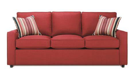 furniture couch sofa monaco sleeper sofa d189 by rowe furniture