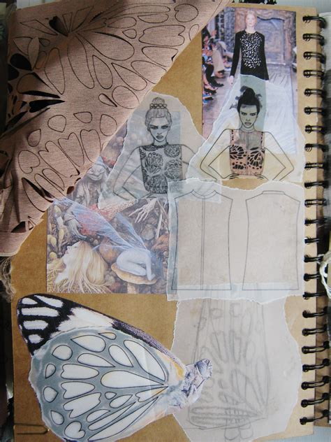 fashion design inspiration ideas key inspirational sketchbook pages samantha beth rounding